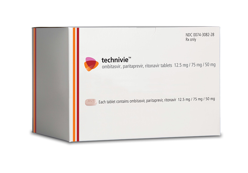 Ombitasvir-Paritaprevir-Ritonavir<div>Photograph courtesy of AbbVie, Inc.</div>